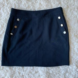NWT Banana Republic buttoned mini work skirt